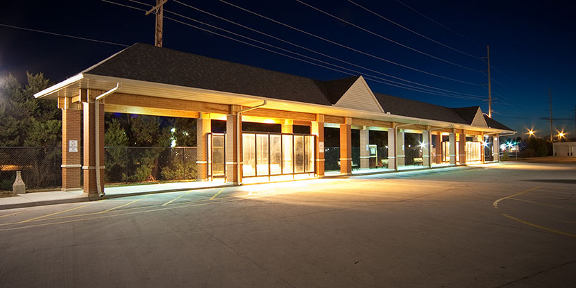Macomb City Bus Transfer Station