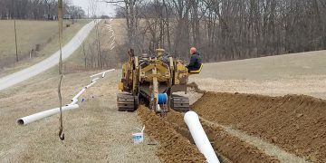 Scotland County Water Main Installation