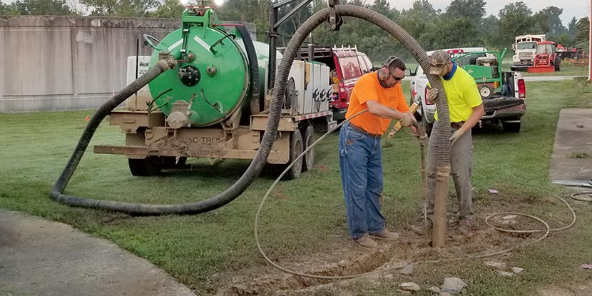Subsurface Utility Engineering Work