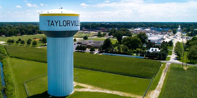 Taylorville Water Tank