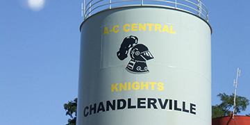 Chandlerville Water Tank